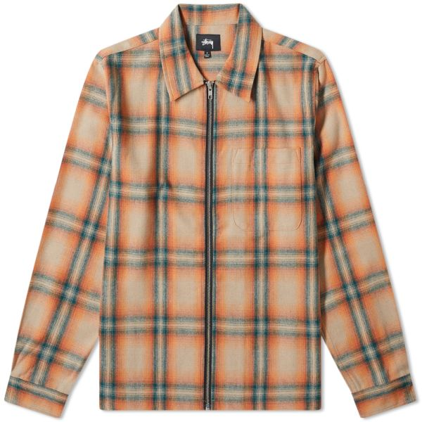 Casual Plaid Round Neck Tops Yeeze