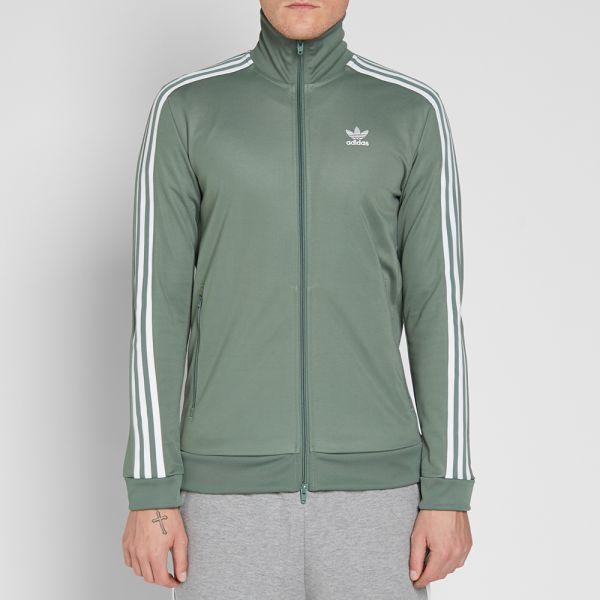 mayoria efecto Robar a  Adidas Beckenbauer Track Top Trace Green | END.