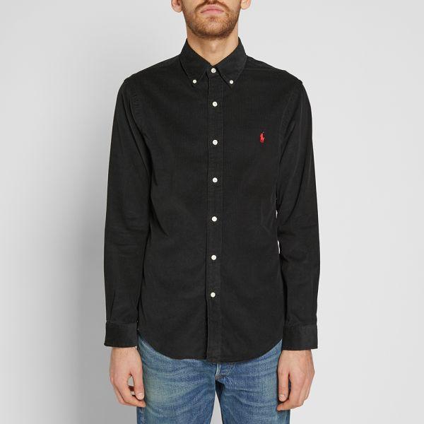 Polo Ralph Lauren Slim Fit Button Down Cord Shirt