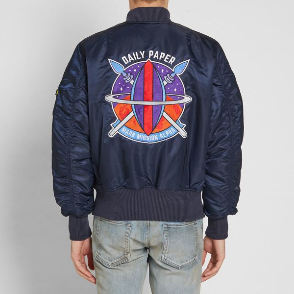 Alpha Industries x Daily Paper MA 1 'Zambian Space Program' Jacket