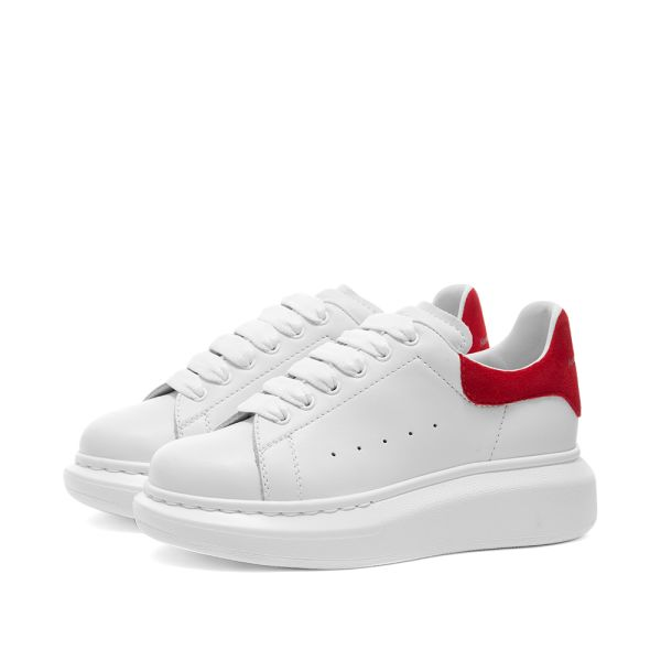 alexander mcqueen shoes red and white