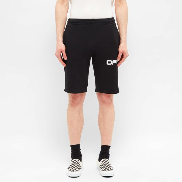 Off White Airport Tape Sweat Short