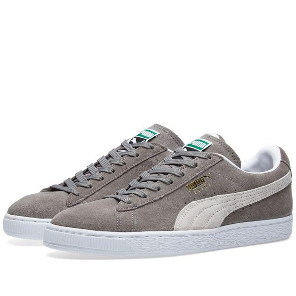 Puma Suede Classic + Steeple Grey