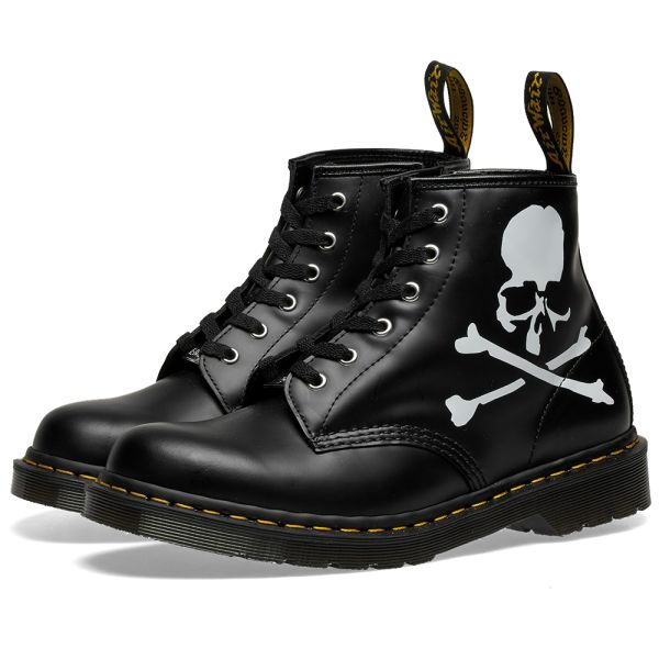 scarpe esclusive come trovare stili di moda END. x MASTERMIND World x Dr. Martens '101 MASTERMIND' Black | END.