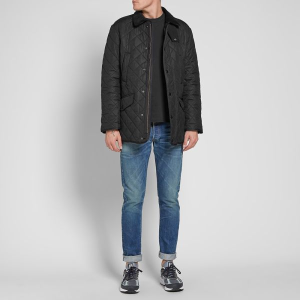 barbour bardon quilted jacket