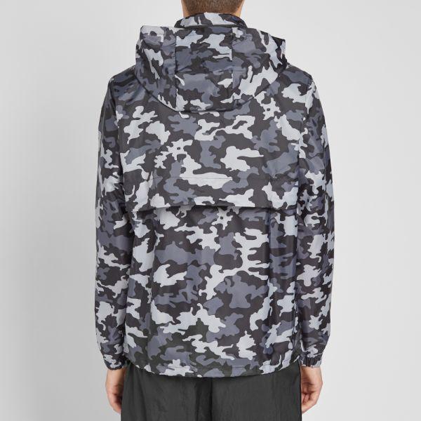 Nike Camo Hooded Windbreaker