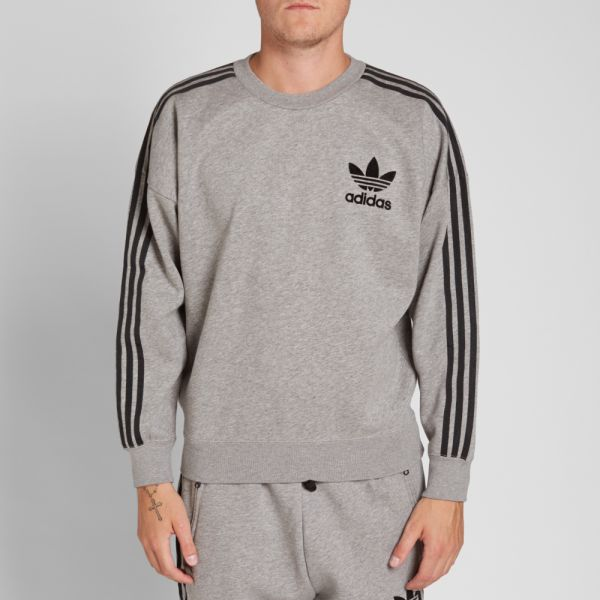 Cabaña incondicional Saludo  Adidas ADC Fashion Crew Sweat Core Heather | END.