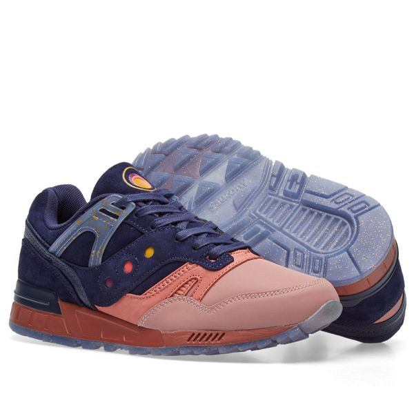 Saucony Grid SD Summer Nights | S70383 1 Retro Shoes