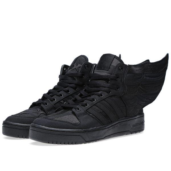 adidas x jeremy scott js wings 2.0 blackwhite