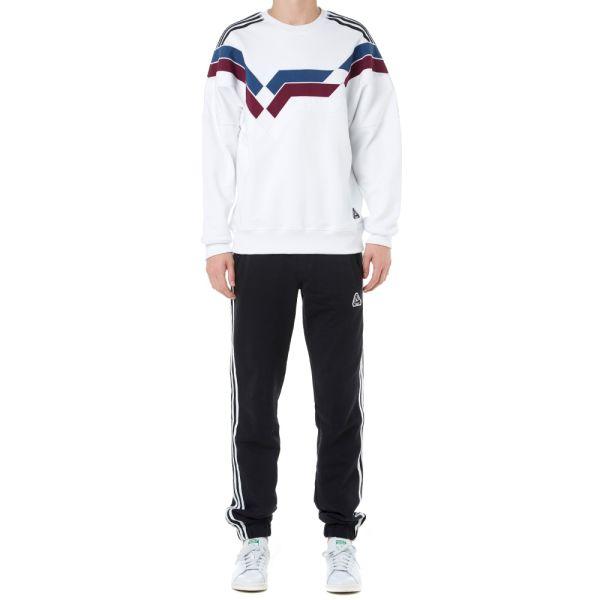 adidas x palace stripe hooded sweatshirt