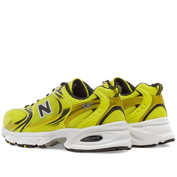 new balance yellow 25