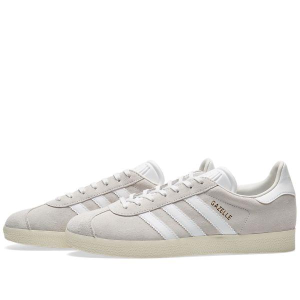 adidas gazelle white
