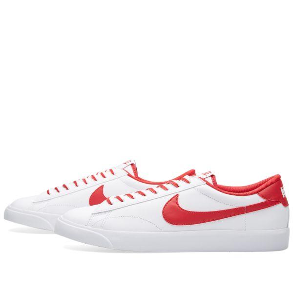 calidad estable desigual en el rendimiento mejor baratas Nike Tennis Classic AC White & Gym Red | END.
