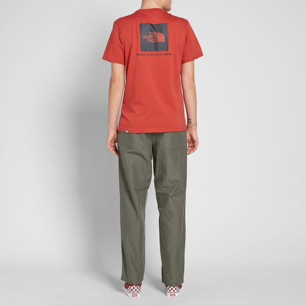 The North Face Never Stop Exploring Womens T-shirt Bossa Nova Red All Sizes