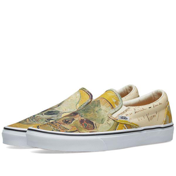 Vincent Van Gogh Vans Slip On Buy Clothes Shoes Online