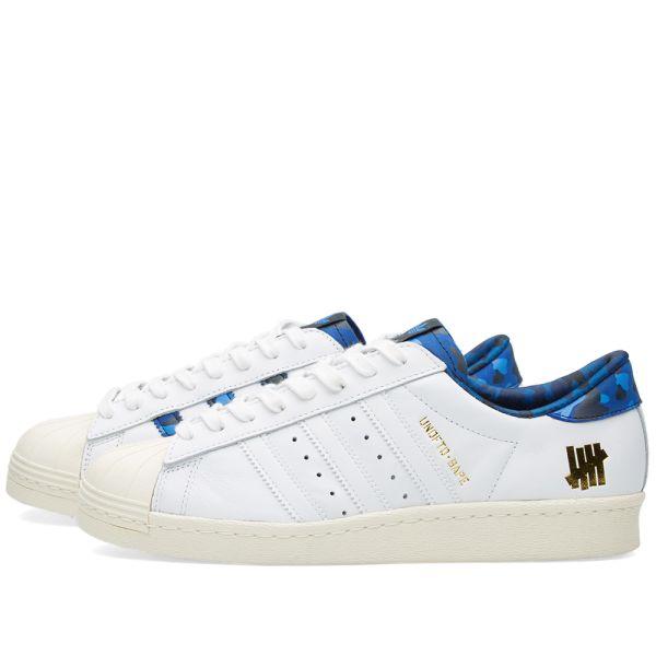 NBHD x BAPE x Adidas Originals Superstar 80s Boost Grey HD