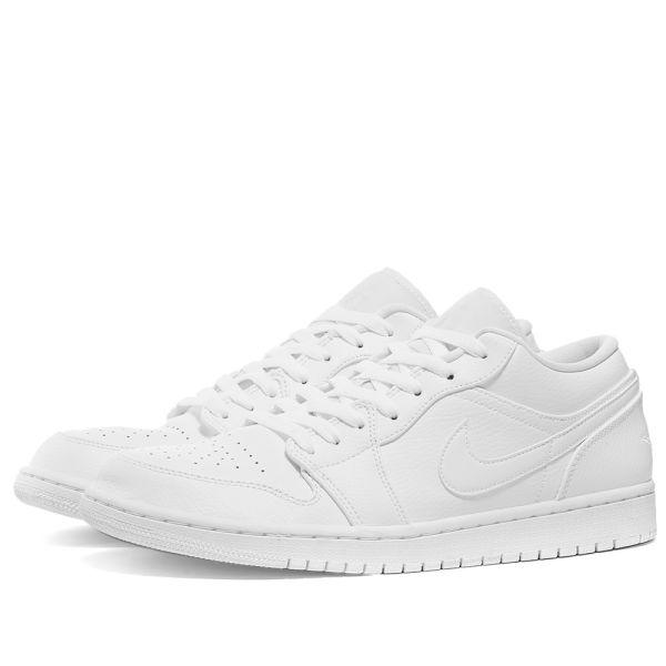 Air Jordan 1 Low White | END.