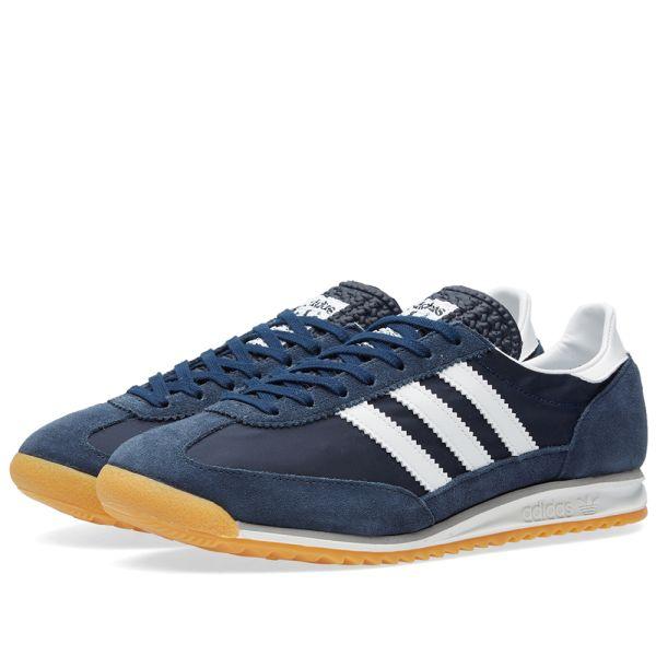 Adidas SL72 Night Navy, White \u0026 Solid