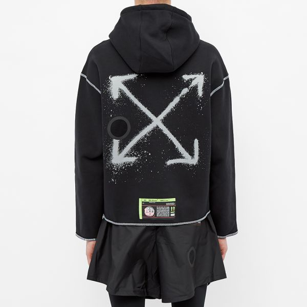 The hoodie black Nike x Off White that is on the influencer