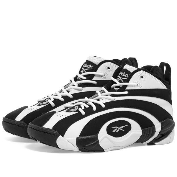 comprar original varios estilos exuberante en diseño Reebok Shaqnosis OG Black, White & Silver | END.