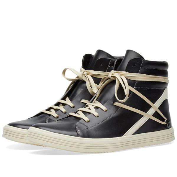 Rick Owens Geothrasher Hi Sneaker Black