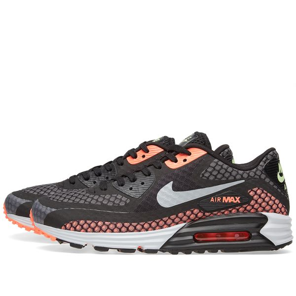 Patrocinar Incompatible Pertenece  Nike Air Max Lunar90 BR Black, Silver & Hot Lava | END.