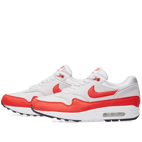 Nike Air Max 1 W Vast Grey & Habanero