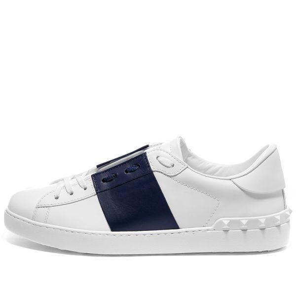 Valentino Open Low Top Sneaker White