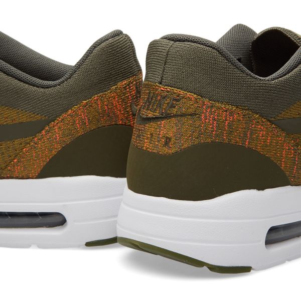 Nike Air Max 1 Ultra Flyknit Olive 843384 300 (2) | Nike air