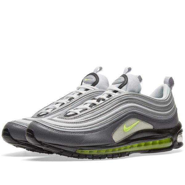2017 Nike Air Max 97 'Neon' Dark GreyVolt For Sale