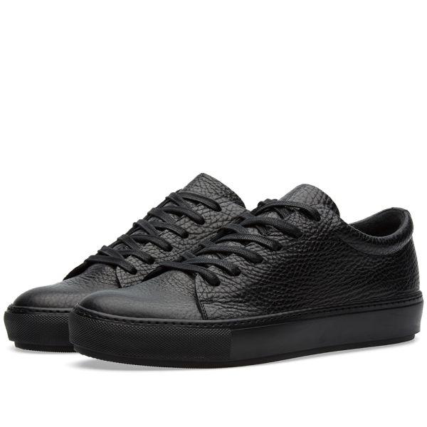 Acne Studios Adrian Grain Sneaker Black