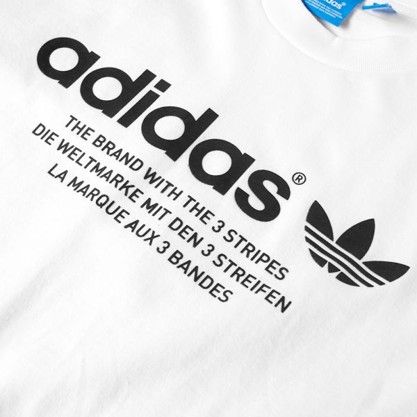 adidas brand with the 3 stripes shirt