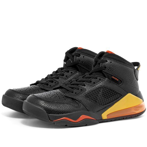 Air Jordan Mars 270 Black, Orange
