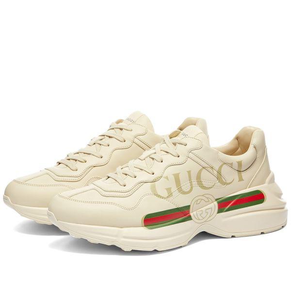 Gucci Rhyton Gucci Print Sneaker Ivory