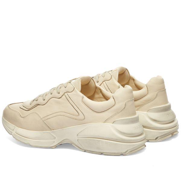 Gucci Rhyton Sneaker Ivory   END.
