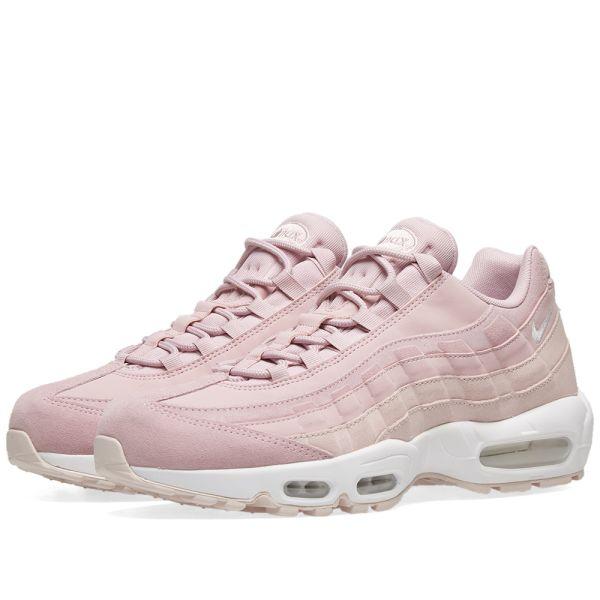 nike air max 95 particle pink bianca