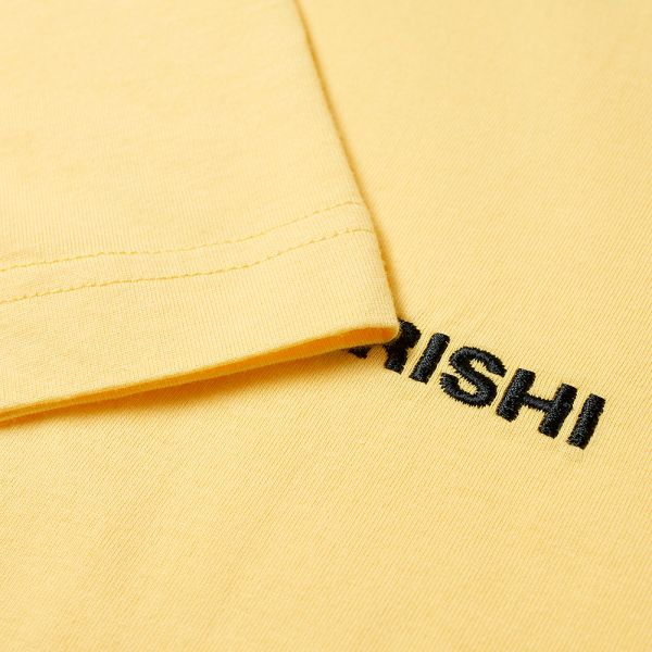 MAHARISHI MHI MENS YELLOW CLASSIC HOODY! **VISIT OUR  STORE**