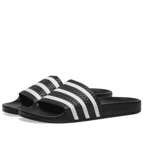 Adidas Adilette Black \u0026 White | END.