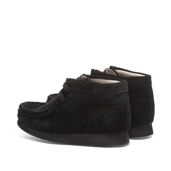 Wallabee Boot Black Suede