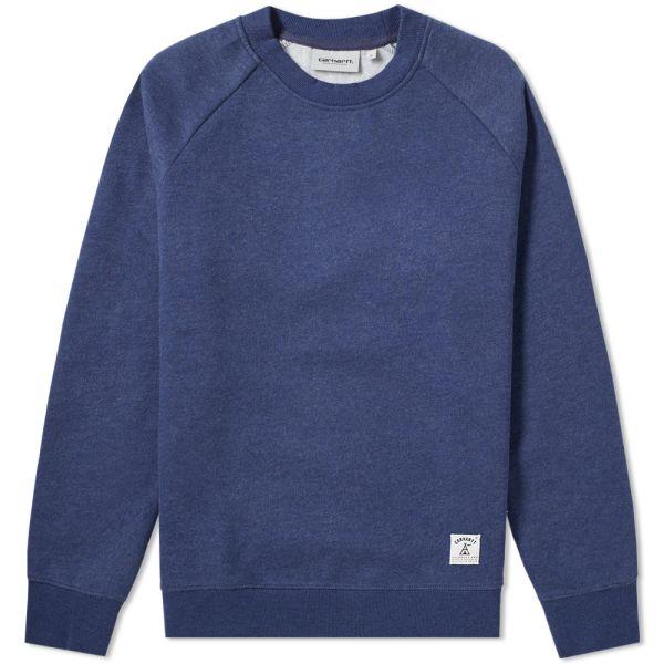 BlueHeather in sizes S,M Carhartt Holbrook Sweatshirt