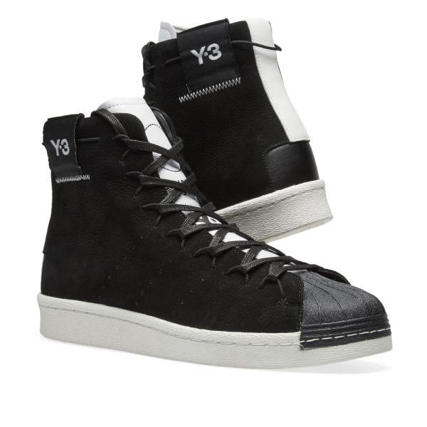 Y-3 Super High Black \u0026 White | END.