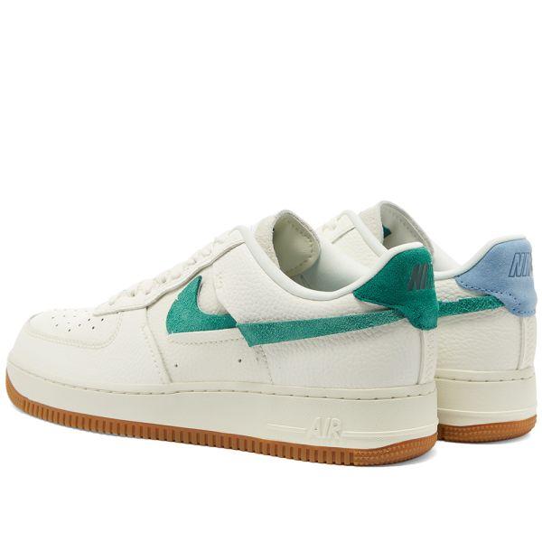 Nike WMNS Air Force 1 '07 LXX (white green blue)   43einhalb Sneaker Store