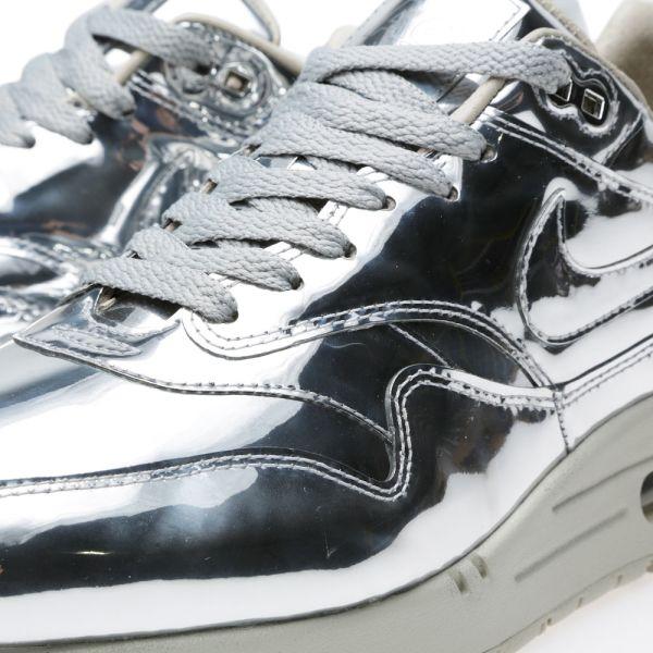 nike air max 1 silver grey liquid metal