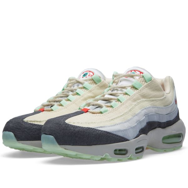 Nike Air Max 95 Halloween QS Summit White, Menta & Grey | END.