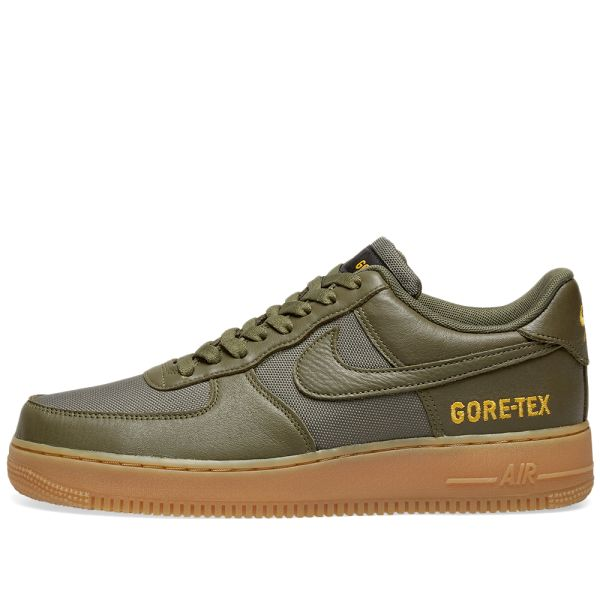 Nike Air Force 1 Gtx Olive Sequoia Gold Black End
