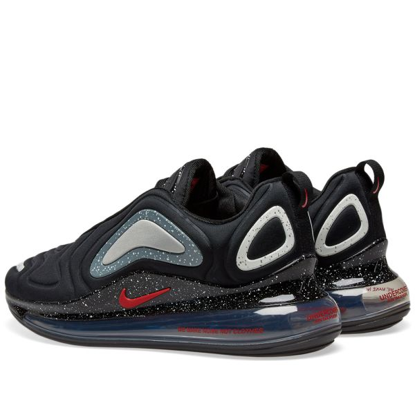 Nike X Undercover Air Max 720 Black University Red End
