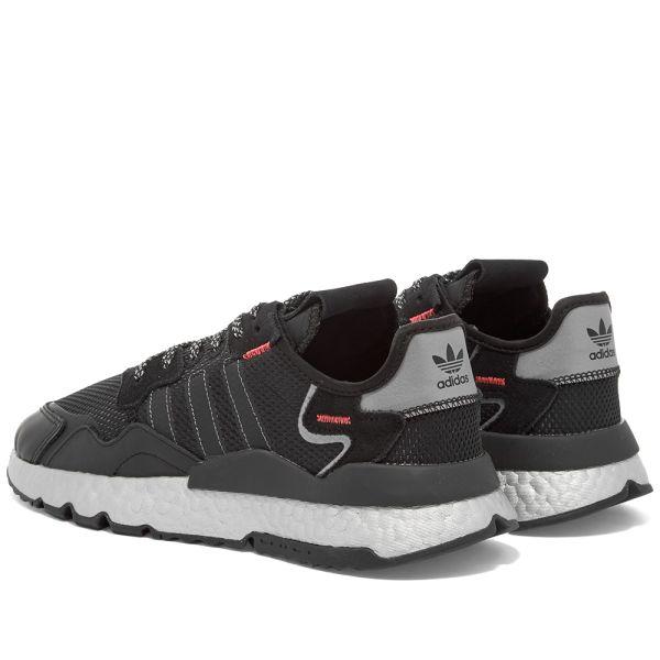 Adidas Nite Jogger W Black, Red