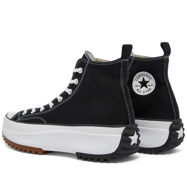 Converse Run Star Hike Black, White