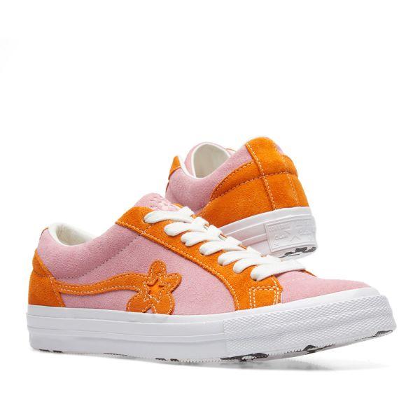 Converse X Golf Le Fleur Two Tones Candy Pink Orange White End