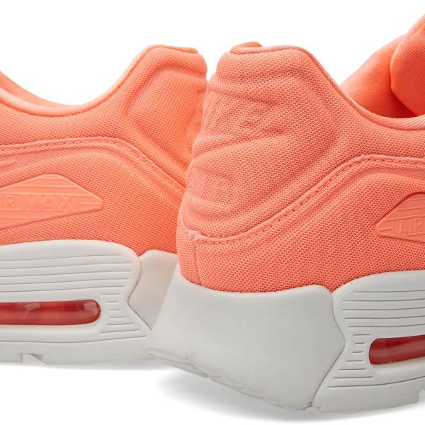 Atomic Pink Nike Air Max 90 Nike W Air Max 90 Ultra Plush Atomic Pink & Summit White   END.
